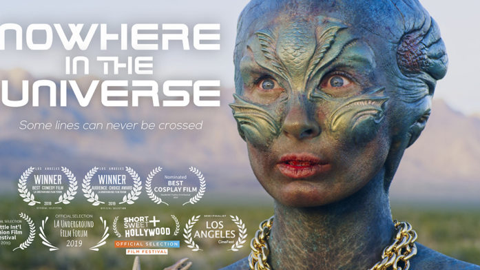 a lost hungry alien in the desert spots a man in the film by writer-director Greg McDonald