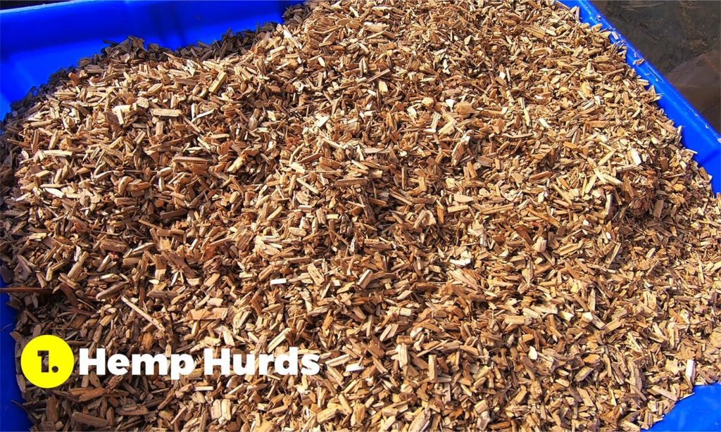 hemp hurds for making hempcrete in episodic series Hemp Already
